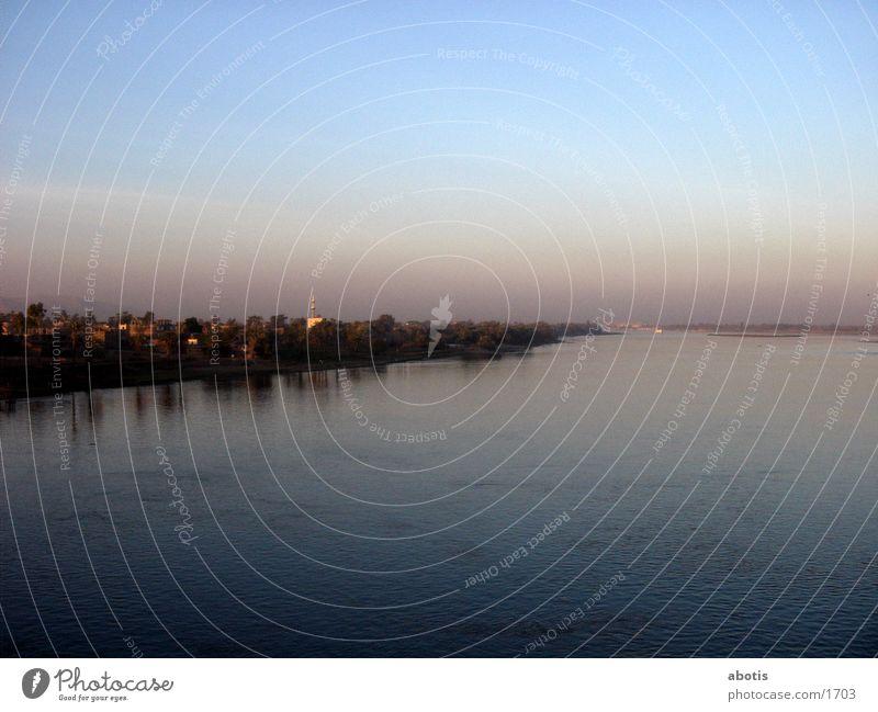 niel sun set 2 Abend Fluss