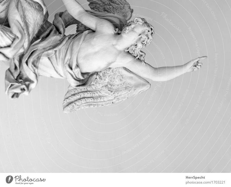 Flügelwesen Religion & Glaube Kunst Stein fliegen Kraft Hilfsbereitschaft Hoffnung Sicherheit Schutz Kitsch sportlich zeigen Engel Skulptur