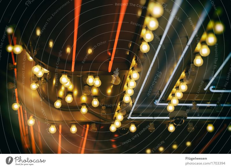 Las Vegas Lights [3] Licht Leuchtreklame Werbung Leuchtbuchstabe Leuchtkasten Lampe Farbenspiel Glühbirne Beleuchtung leuchten Strahlung Neonlicht neonfarbig