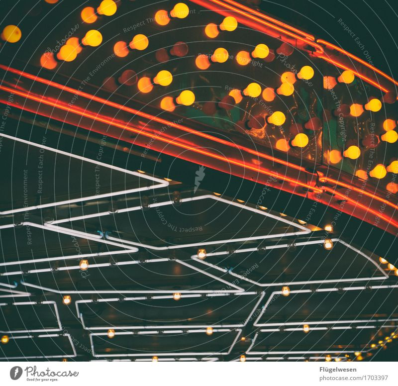 Las Vegas Lights [1] Licht Leuchtreklame Werbung Leuchtbuchstabe Leuchtkasten Lampe Farbenspiel Glühbirne Beleuchtung leuchten Strahlung Neonlicht neonfarbig