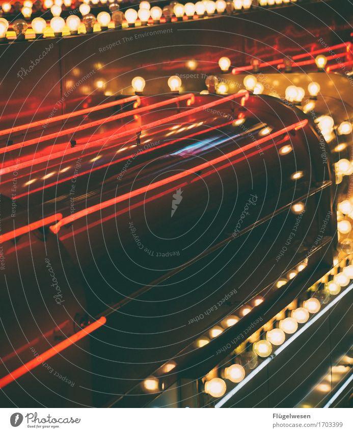 Las Vegas Lights [4] Licht Leuchtreklame Werbung Leuchtbuchstabe Leuchtkasten Lampe Farbenspiel Glühbirne Beleuchtung leuchten Strahlung Neonlicht neonfarbig