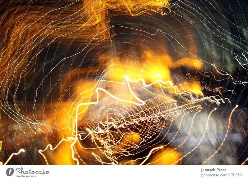 Domographie Farbfoto Menschenleer Nacht Lichterscheinung Langzeitbelichtung Köln Deutschland Europa Kölner Dom Bewegung drehen entdecken leuchten gelb gold