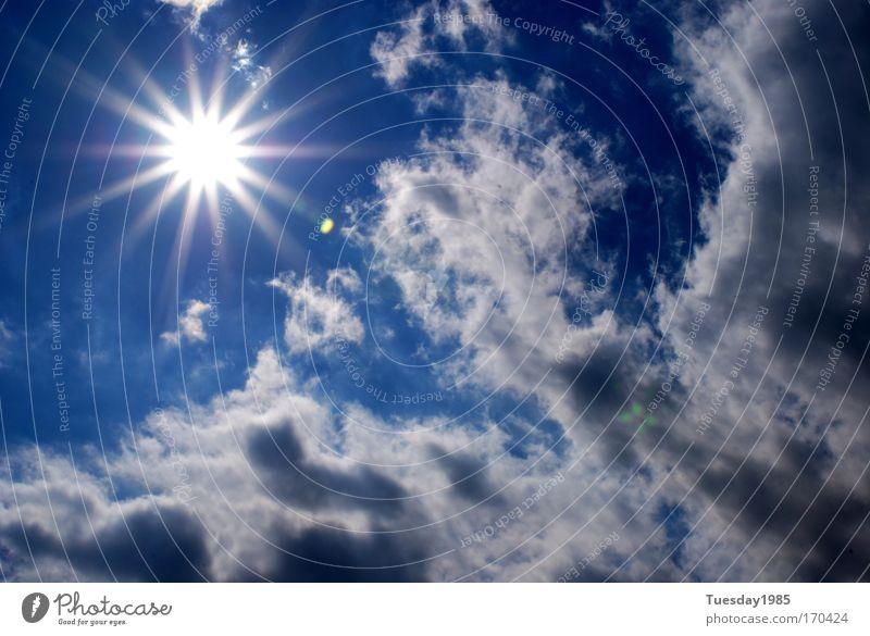 Sunlightexpress Himmel Wolken Sonne Sonnenlicht Sommer Schönes Wetter Klima Energiewirtschaft Farbfoto Außenaufnahme Licht Sonnenstrahlen Tag
