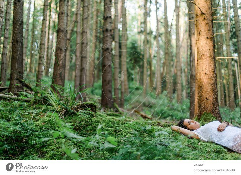 Dreamed a dream I will not tell Lifestyle Stil Wohlgefühl Erholung ruhig Freizeit & Hobby Mensch feminin Junge Frau Jugendliche Erwachsene Leben 1 18-30 Jahre