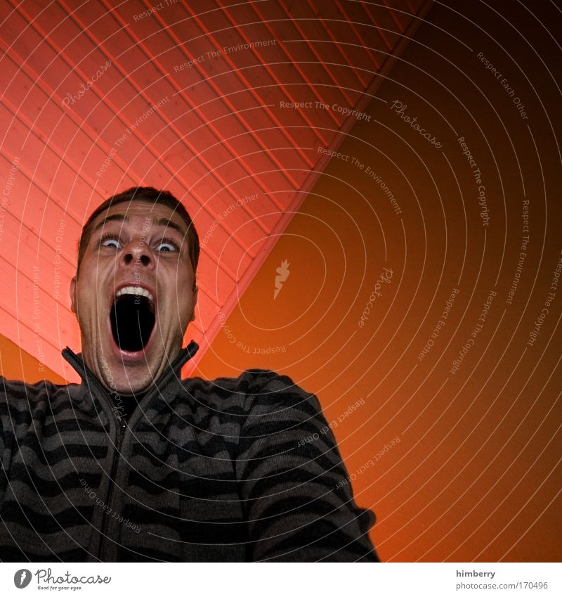 spieglein spieglein an der wand Mensch Mann Jugendliche Gesicht Leben Kopf Stil Erwachsene Mund Angst Design Lifestyle Zähne Kontakt Todesangst skurril