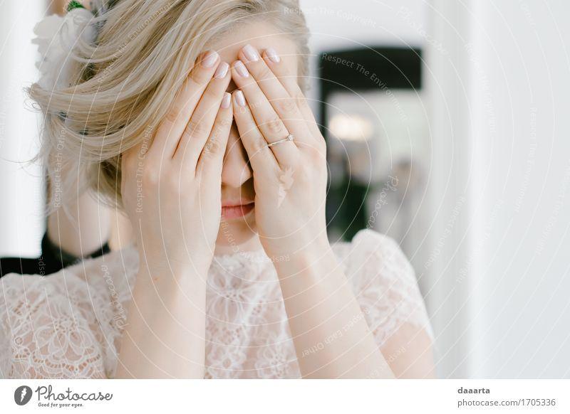 ängstlich Lifestyle elegant Stil Freude Leben harmonisch Freizeit & Hobby Abenteuer Freiheit Veranstaltung Flirten Feste & Feiern Hochzeit feminin Junge Frau
