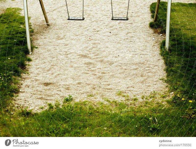 Platzwahl Natur Freude Einsamkeit Umwelt Leben Spielen Freiheit Bewegung Gras Traurigkeit träumen Freizeit & Hobby Zukunft Kommunizieren Bildung Kreativität