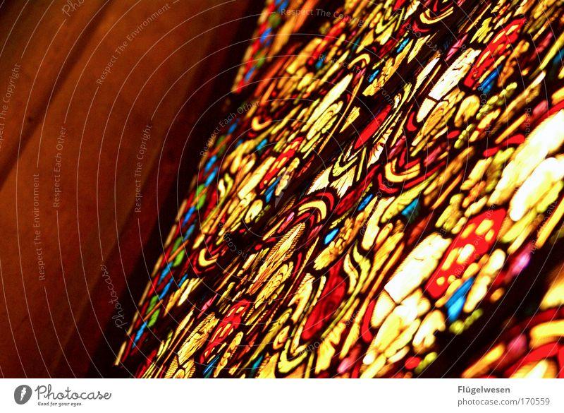 Da sieht Carglass ganz, aber ganz alt aus! Farbfoto Innenaufnahme Lifestyle Stil Design Kunst Künstler Maler Kunstwerk Kultur Kirche Dom Architektur Fenster