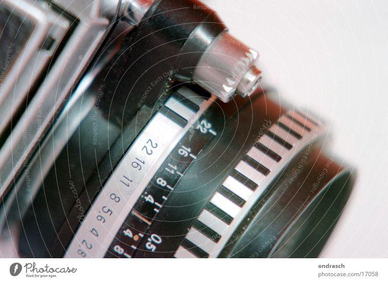 Blende acht Fotografie Fotolabor Elektrisches Gerät Technik & Technologie Fotokamera Objektiv Bild Linse Ziffern & Zahlen Einstellungen Beleuchtung