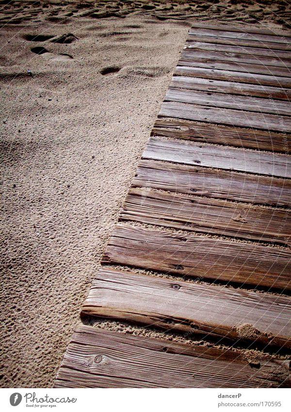 (B)retterweg Sonne Sommer Strand Ferien & Urlaub & Reisen Meer ruhig Ferne Erholung Landschaft Sand Küste Erde Ausflug Insel Sicherheit Wüste