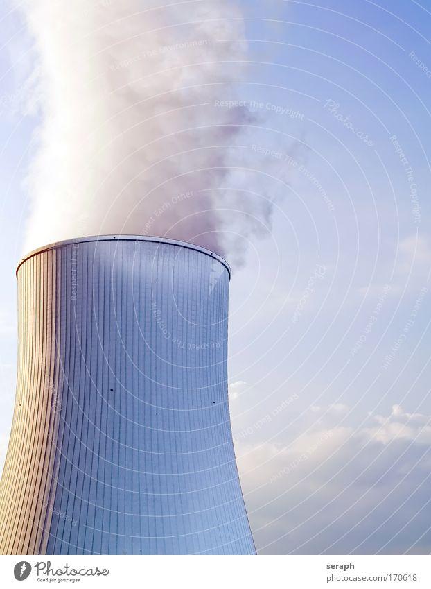 Wolkenmacher Wolken Gebäude Gas Energiewirtschaft Industrie Technik & Technologie Abgas Konstruktion Emission Entwicklung Wasserdampf Erschöpfung industriell Umweltverschmutzung Vorrat Wolkenhimmel