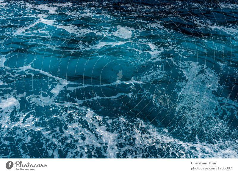Deep blue sea Leben harmonisch Wohlgefühl Zufriedenheit Sinnesorgane Erholung Meditation Ferien & Urlaub & Reisen Tourismus Ausflug Abenteuer Ferne Meer Wellen