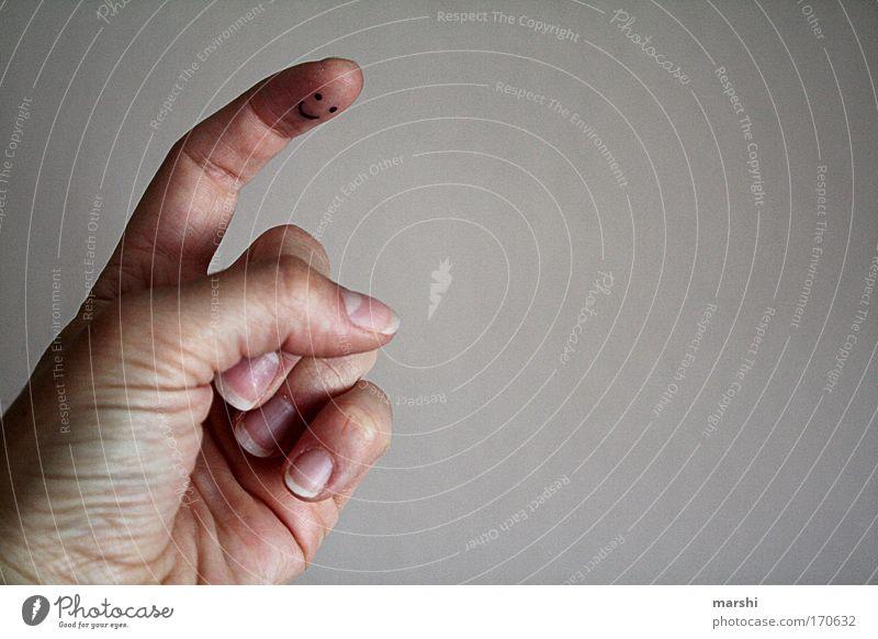 der erhobene Zeigefinger... Farbfoto Textfreiraum rechts Kindererziehung Kindergarten Kindheit Hand Finger bedrohlich Gefühle Stimmung Tugend Schutz gehorsam