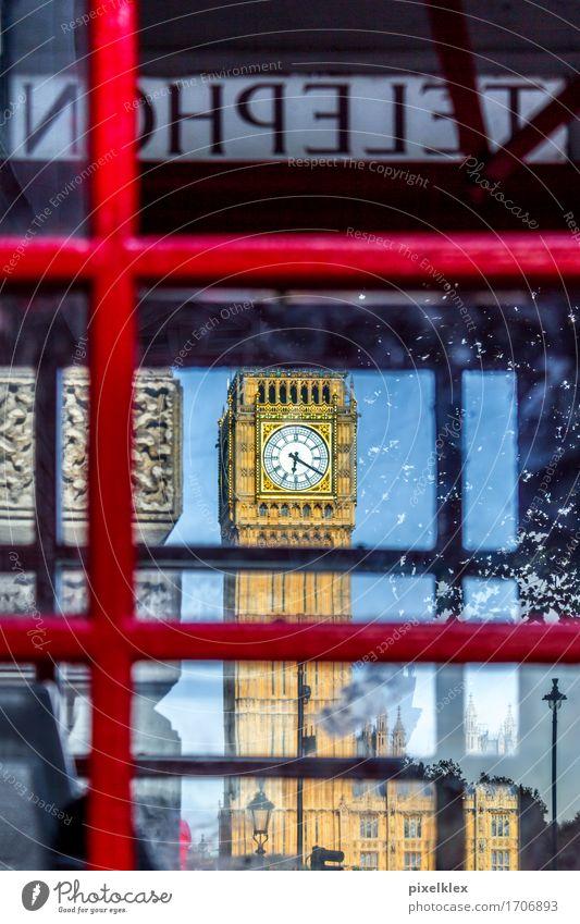 NOHPELET Ferien & Urlaub & Reisen Tourismus Sightseeing Städtereise Telefon Telefonzelle London Großbritannien England Stadt Hauptstadt Stadtzentrum Bauwerk