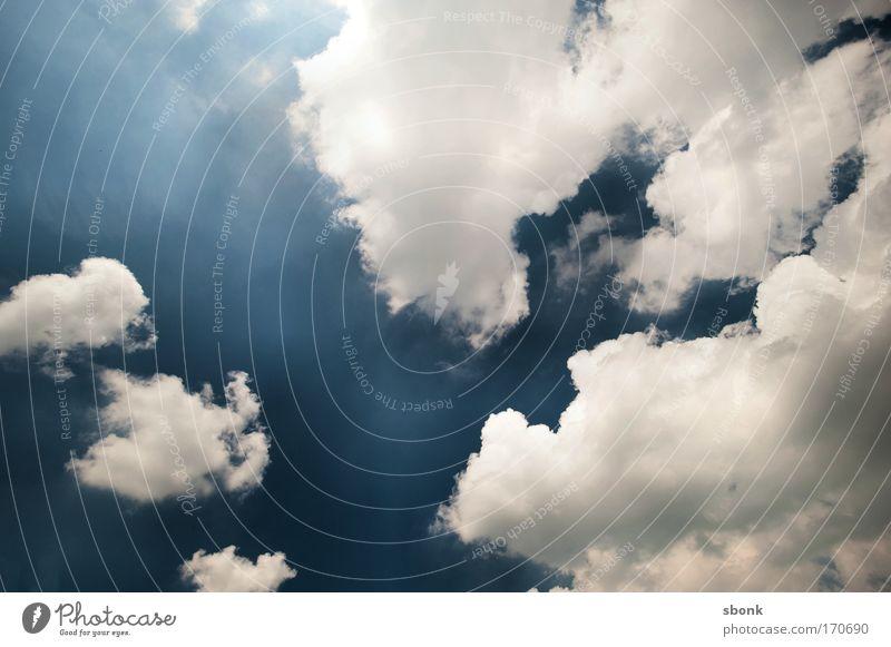 Cloudsphere Himmel Wolken Umwelt Luft Hintergrundbild Wetter Klima Textfreiraum aufwärts himmlisch Kumulus himmelwärts Wolkenhimmel Wolkenformation nur Himmel