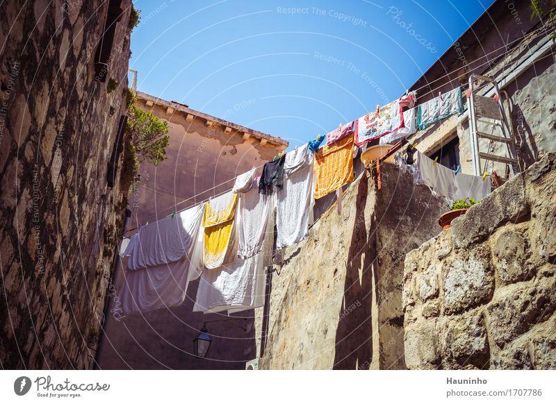 Dubrovnik Vlll Ferien & Urlaub & Reisen Stadt Pflanze Sommer Haus Architektur Wand Leben Gebäude Mauer grau Stein braun Sand Tourismus Fassade