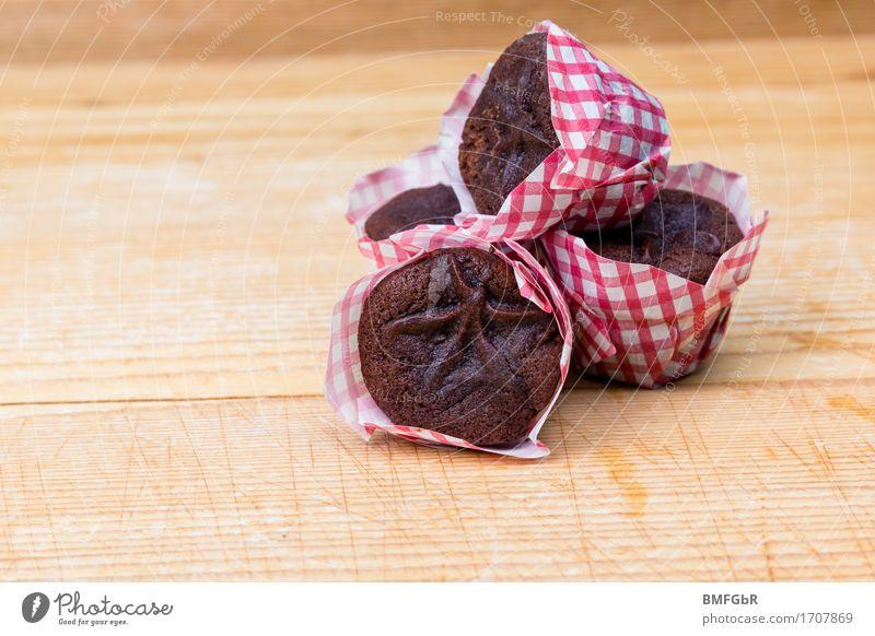 Mampf.... schön rot Holz klein Lebensmittel braun Ernährung genießen süß lecker Süßwaren Frühstück Duft Dessert Kuchen Backwaren