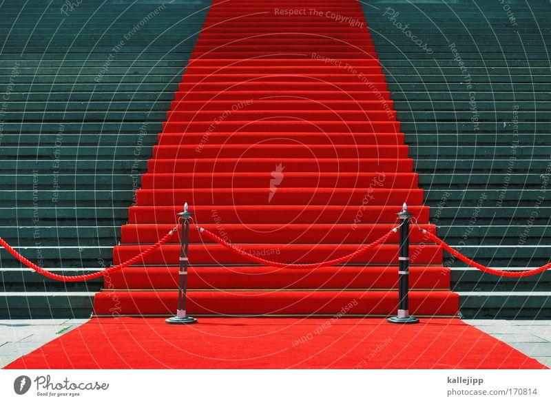 geschlossene gesellschaft Teppich rot Stil Kunst Feste & Feiern elegant Haus Design Erfolg Lifestyle Detailaufnahme Kultur Club Konzert Burg oder Schloss