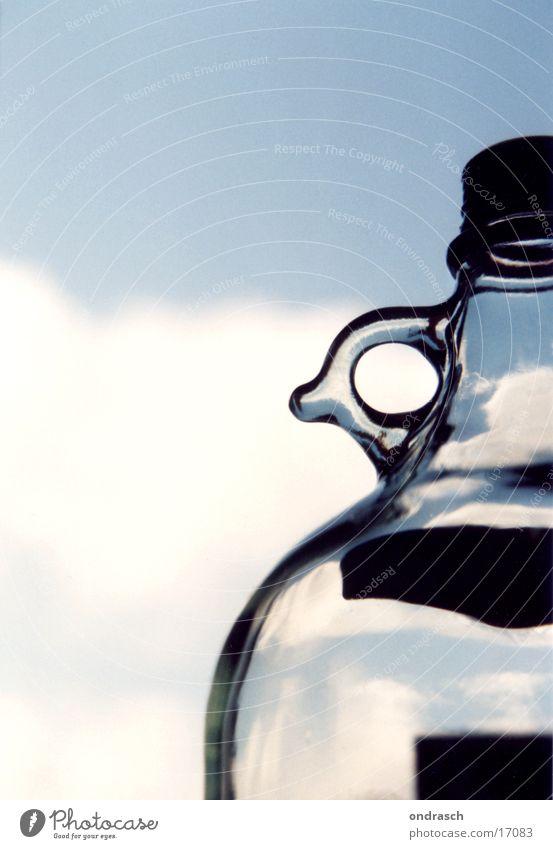 Himmlisches Tröpfchen Physik Dinge Flasche Vino Rosso Himmel Wärme Wein