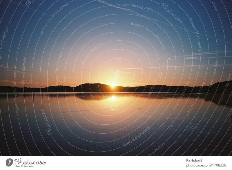 Morgenschön Ferien & Urlaub & Reisen Tourismus Ausflug Abenteuer Ferne Freiheit Sommer Sommerurlaub Sonne Umwelt Natur Landschaft Wasser Himmel Sonnenaufgang