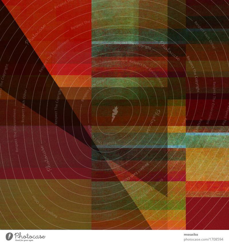 Abstrakte Formen - Graphische Formen Kunst Natur braun mehrfarbig gelb gold grau grün orange schwarz Horizont Idee Inspiration Kultur Herbst herbstlich