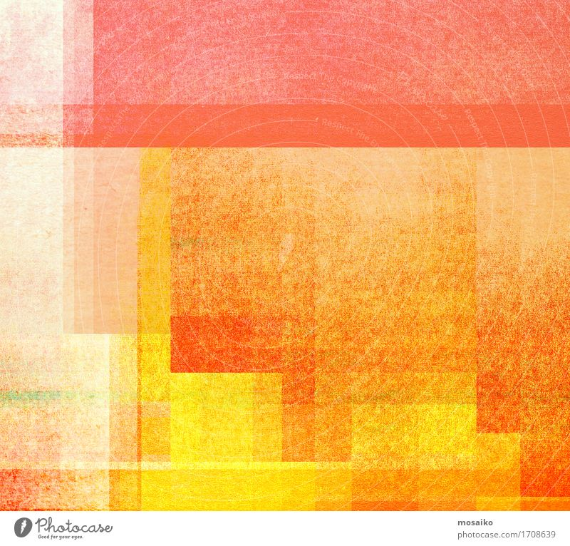 strukturierter abstrakter Hintergrund - Grafikdesign Farbe rot gelb Lifestyle Stil Kunst Business Linie orange Design Dekoration & Verzierung retro Idee Papier