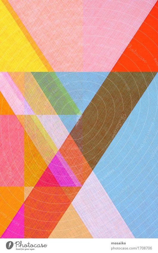 Papier Design elegant Stil zeichnen mehrfarbig Freude ästhetisch Idee einzigartig innovativ Inspiration Surrealismus Symmetrie Origami Hintergrundbild