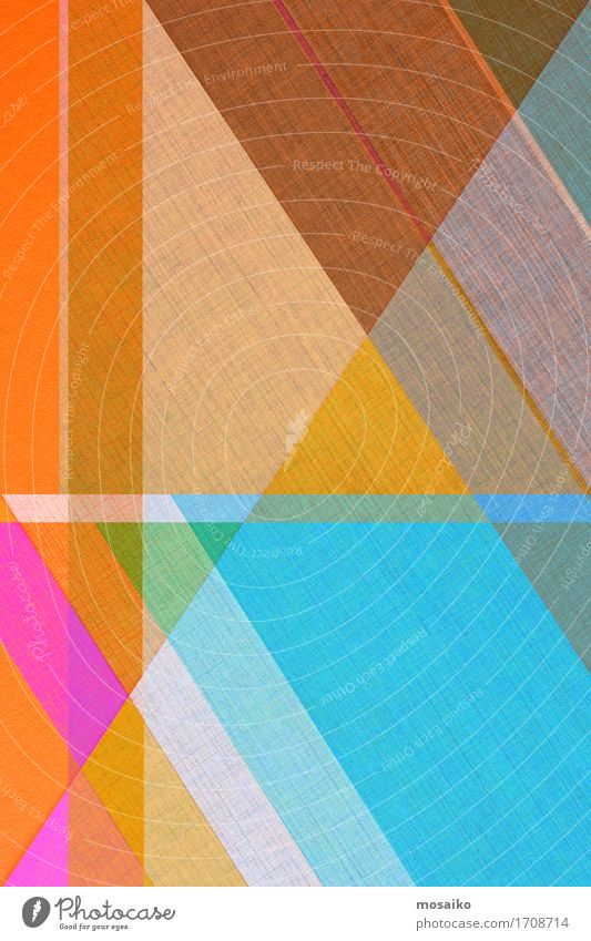 Papier Design - Graphische Formen Farbe schön Hintergrundbild Lifestyle Stil Business Linie elegant einfach Grafik u. Illustration graphisch trendy Oberfläche