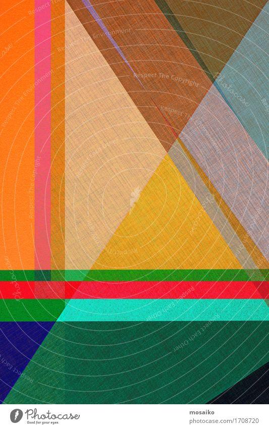 Papier - graphischer Hintergrund Lifestyle elegant Stil Design Business ästhetisch einfach trendy modern Originalität mehrfarbig Geometrie Grafische Darstellung