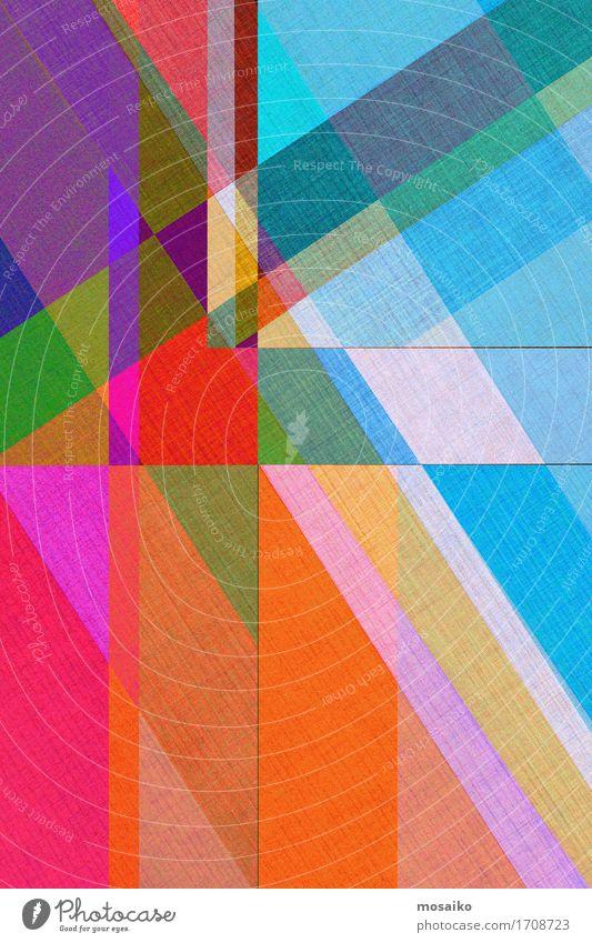 abstrakte Papiergestaltung Zirkus ästhetisch Zufriedenheit Inspiration Kreativität Mode modern Stil Regenbogen mehrfarbig Farbschicht Grafik u. Illustration