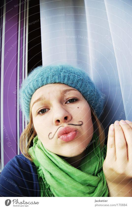 Mais... Jugendliche blau weiß schwarz Gesicht Auge feminin sprechen Kopf Haare & Frisuren Denken hell Mund rosa Haut Nase