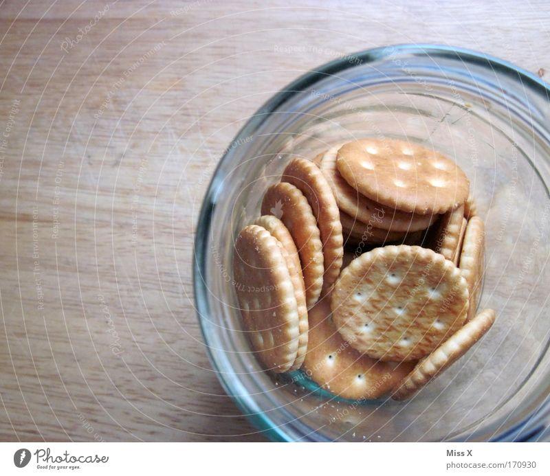 altbewährte Keksdose Holz Glas Lebensmittel Ernährung rund trocken Getreide Appetit & Hunger Süßwaren Backwaren Keks Teigwaren Büffet Brunch Snack gefräßig