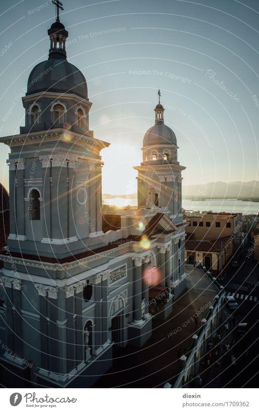Nuestra Señora de la Asuncion Ferien & Urlaub & Reisen Stadt Ferne Tourismus authentisch Kirche Fernweh Stadtzentrum Altstadt Städtereise Sightseeing Dom Kuba