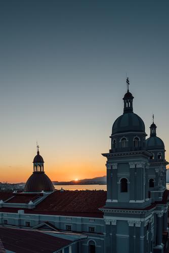 Nuestra Señora de la Asuncion | 3 Ferien & Urlaub & Reisen Stadt Meer Ferne Religion & Glaube Gebäude Freiheit Tourismus Kirche Turm Bauwerk Sehenswürdigkeit