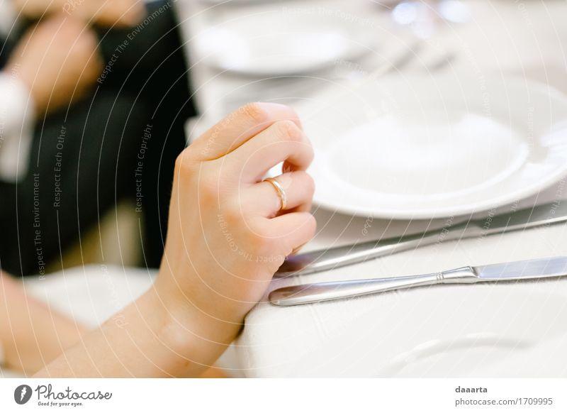 verheiratetes Mittagessen Lebensmittel Geschirr Teller Lifestyle elegant Stil Design Freude harmonisch Freizeit & Hobby Spielen Abenteuer Freiheit