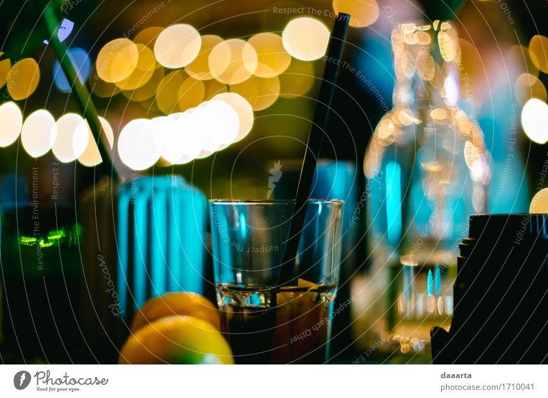 Partystimmung Getränk Alkohol Longdrink Cocktail Lifestyle elegant Stil Design Freude Leben harmonisch Freizeit & Hobby Abenteuer Freiheit Innenarchitektur