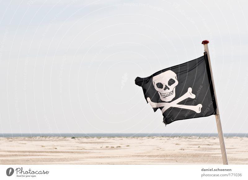 St Pauli Insel Meer Strand Stil Abenteuer Fahne Zeichen Stolz Konkurrenz Pirat rebellieren