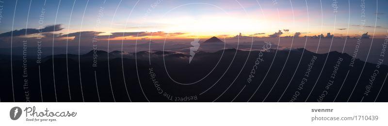 Inerie Sunrise Panorama ruhig Ferien & Urlaub & Reisen Tourismus Ausflug Abenteuer Ferne Freiheit Expedition Umwelt Natur Landschaft Himmel Wolken