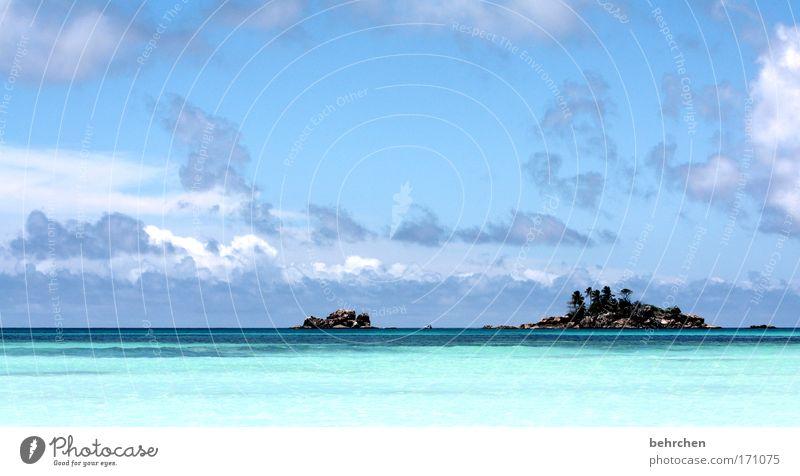 insel am morgen... Himmel Sonne Meer Sommer Strand Ferien & Urlaub & Reisen Wolken Einsamkeit Ferne Erholung Freiheit träumen Wellen Felsen Afrika Ausflug