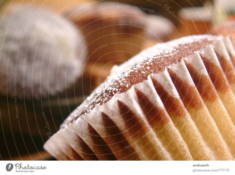 Backwerk Ernährung Feste & Feiern süß Kochen & Garen & Backen Küche Reflexion & Spiegelung Kuchen lecker Backwaren Zucker Torte Teigwaren Pulver Muffin