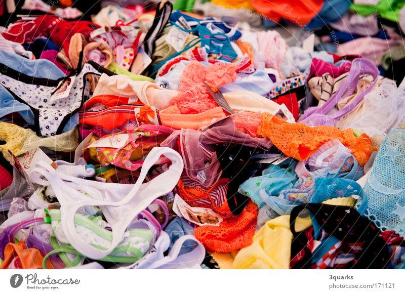unterwäsche mehrfarbig Menschenleer Lifestyle elegant Stil Design Freude schön Mode Bekleidung Unterwäsche ästhetisch Billig trashig feminin Laster Lust bizarr
