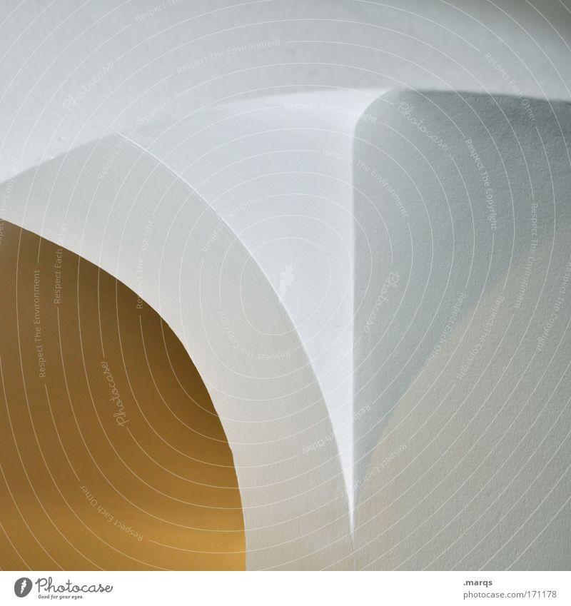 Gewölbe Wand Stil Mauer Gebäude Linie Architektur Design elegant ästhetisch rund Sauberkeit rein Häusliches Leben einzigartig Spitze
