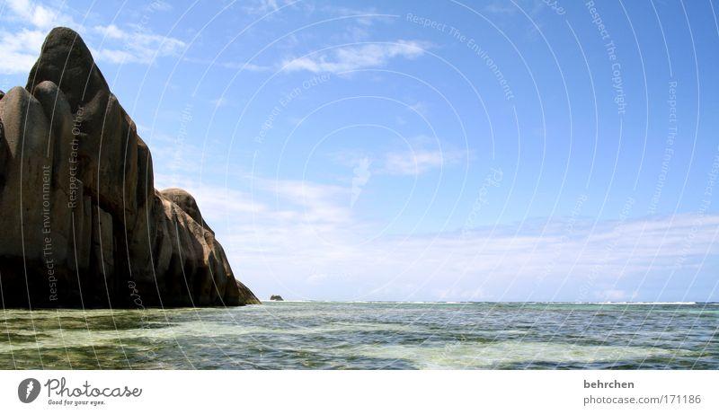 eisberg? Farbfoto Außenaufnahme Menschenleer Sonnenlicht Ferien & Urlaub & Reisen Tourismus Ausflug Ferne Freiheit Himmel Wolken Schönes Wetter Felsen Wellen