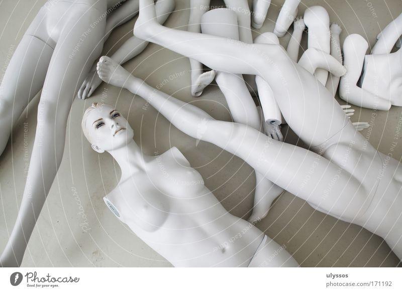 Puppentheater Hand weiß feminin nackt Kopf grau Beine Fuß Körper Mund Arme Nase maskulin Ohr Lippen Brust