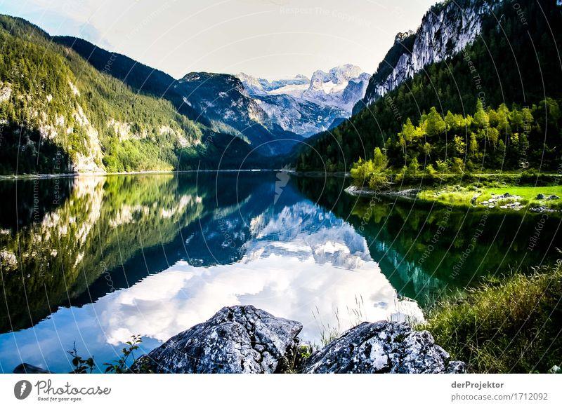 Still ruht der See im Oktober Ferien & Urlaub & Reisen Tourismus Ausflug Abenteuer Ferne Freiheit Sommerurlaub Berge u. Gebirge wandern Umwelt Natur Landschaft