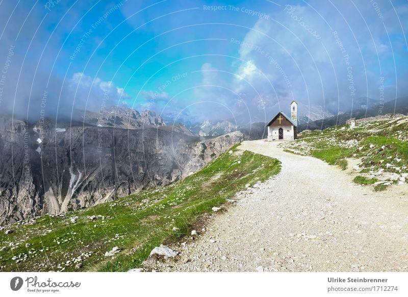 Himmelwärts Ferien & Urlaub & Reisen Tourismus Ausflug Sommerurlaub Berge u. Gebirge wandern Umwelt Natur Landschaft Wolken Schönes Wetter schlechtes Wetter