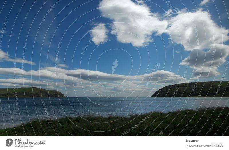 Dolphin´s viewpoint Himmel Natur Wasser Ferien & Urlaub & Reisen Sommer Meer Wolken Erholung Landschaft Ferne Freiheit Küste Insel Ausflug Schönes Wetter Bucht