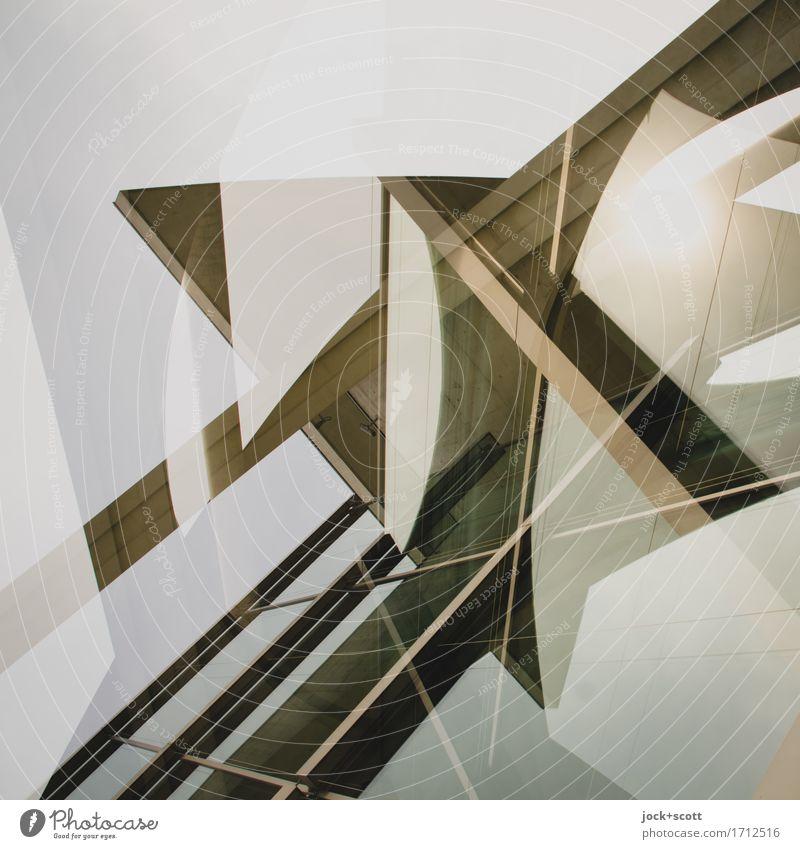 Stil & Marie Architektur Bauwerk Sehenswürdigkeit Beton ästhetisch außergewöhnlich eckig modern innovativ Inspiration komplex Kreativität Perspektive