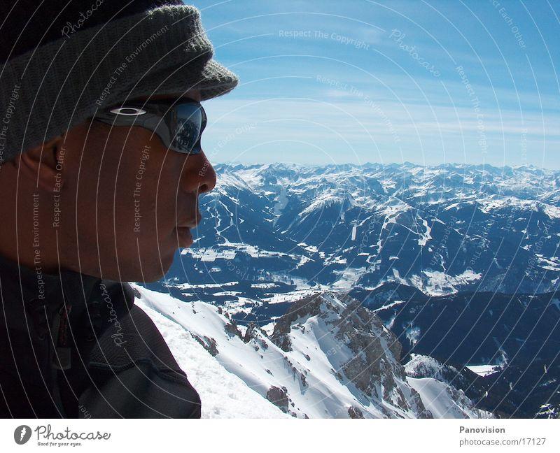 Dachsteintauern Panorama (Aussicht) Extremsport Freeride Berge u. Gebirge groß