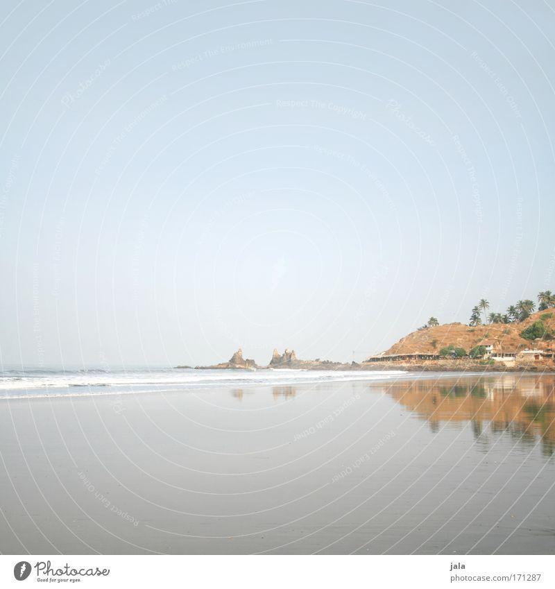 Evanescence Wasser Himmel Meer Sommer Strand ruhig Einsamkeit Ferne Gefühle Denken Sand Luft Stimmung Kraft Wellen Hoffnung